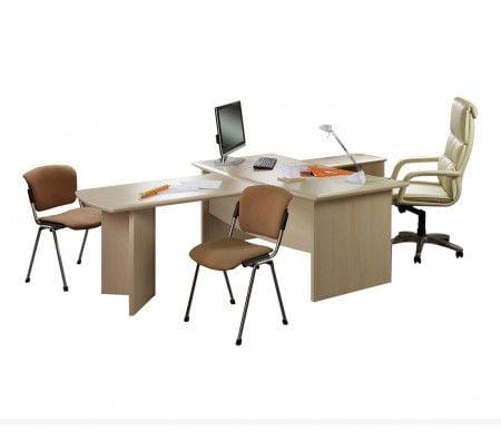 Альтерна Премиум Набор мебели для руководителя Премиум Венге Премиум