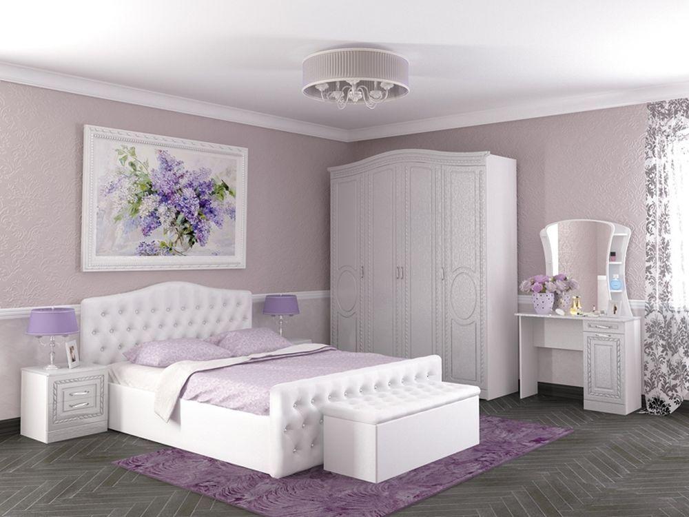 белый спальный гарнитур картинки добсон поздравлении